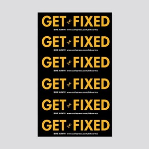 Get Fixed sticker sheet (small)